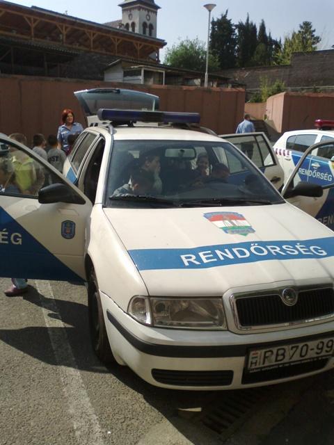 Látogatás a XX. kerületi Rendőrségre (3)