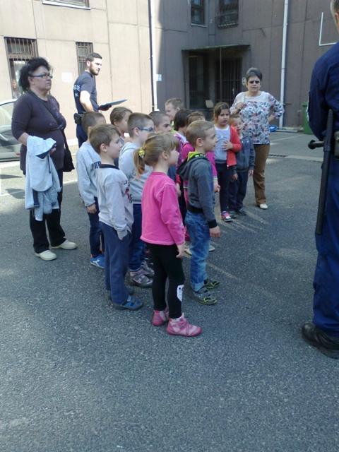 Látogatás a XX. kerületi Rendőrségre (5)