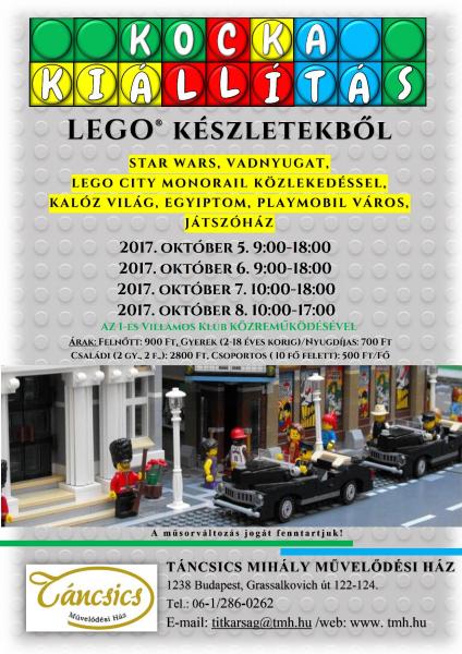 LEGO kiállítás 2017.10.06.